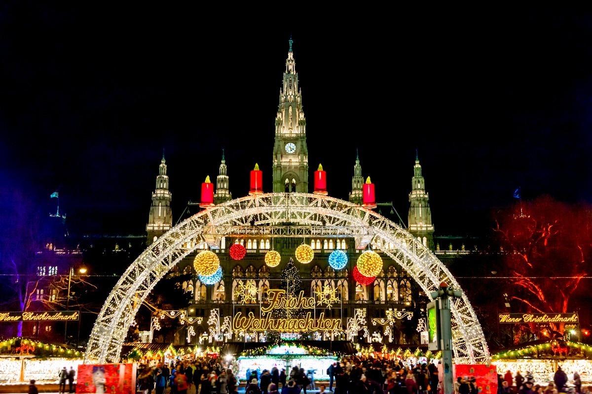 Στις χριστουγεννιάτικες αγορές της Βιέννης!